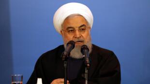 الرئيس الإيراني حسن روحاني/