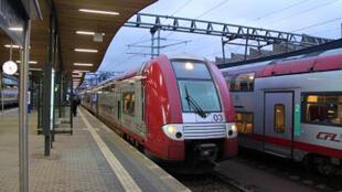 محطة قطارات في لوكسمبورغ