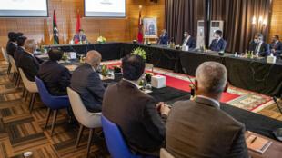 اجتماع ممثلين عن الفرقاء المتنازعين في ليبيا  في بوزنيقة جنوب الرباط، بمبادرة من المغرب ( 06 سبتمبر 2020)
