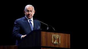 رئيس الوزراء الاسرائيلي بنيامين نتانياهو