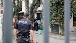 رجل شرطة تركي