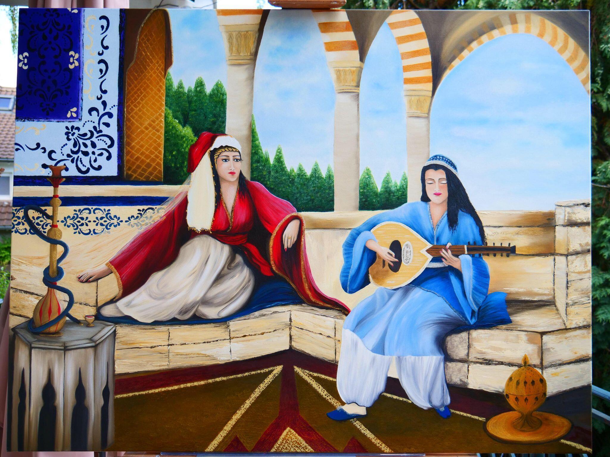 لوحة3 - الفنانة ماريا الأشمر