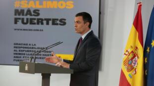 رئيس الوزراء الاسباني بيدرو سانشيز