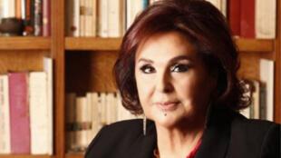 نضال الأشقر الممثلة والمخرجة المسرحية ومؤسسة مسرح المدينة في بيروت