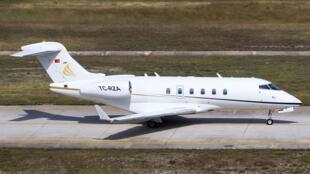 الطائرة التي يبدو أن غصن استعملها خلال عملية هروبه من اليابان