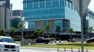 مكان إطلاق النار على نائب القنصل التركي في أربيل