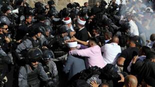 الصدامات في حرم المسجد الأقصى