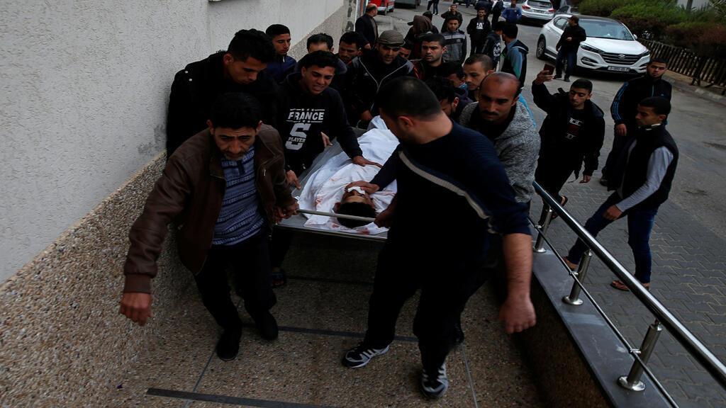 مقتل فلسطيني يوم 30مارس2019