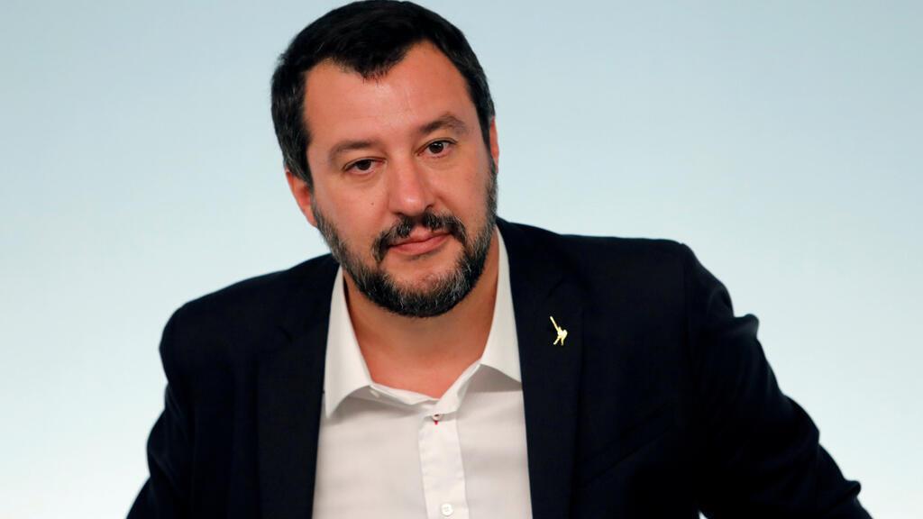 وزير الداخلية الإيطالي ماتيو سالفيني