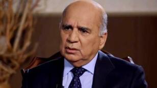 فؤاد حسين نائب رئيس الوزراء العراقي للشؤون الاقتصادية ووزير المالية