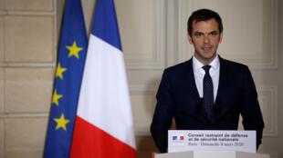 وزير الصحة الفرنسي أوليفييه فران