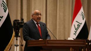 رئيس الوزراء الجديد عادل عبد المهدي