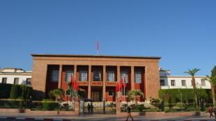 مبنى البرلمان في العاصمة المغربية، الرباط