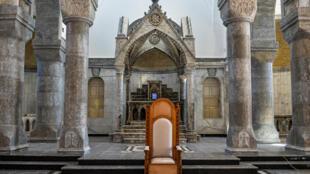 cathedrale-irak 21-02 2021