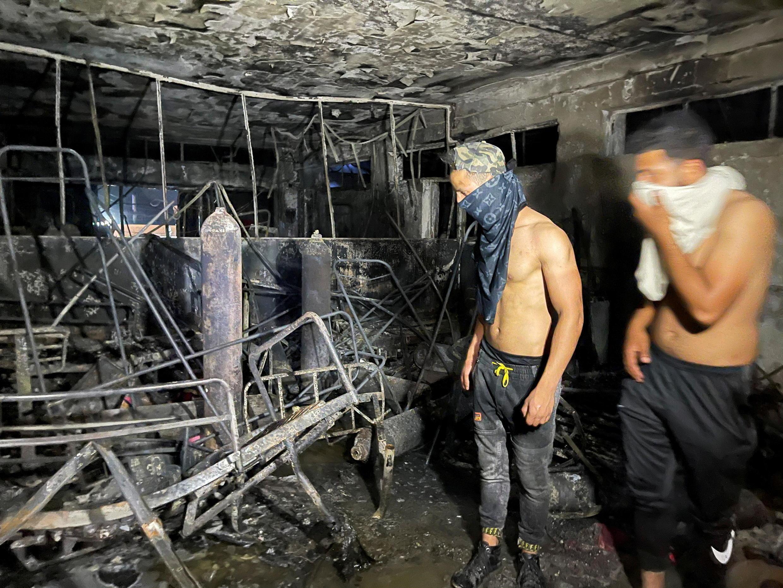 _IRAQ-FIRE-HOSPITAL