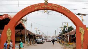 في مدينة بنين النيجيرية