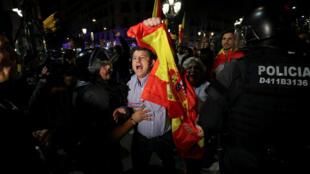 احتجاجات في برشلونة