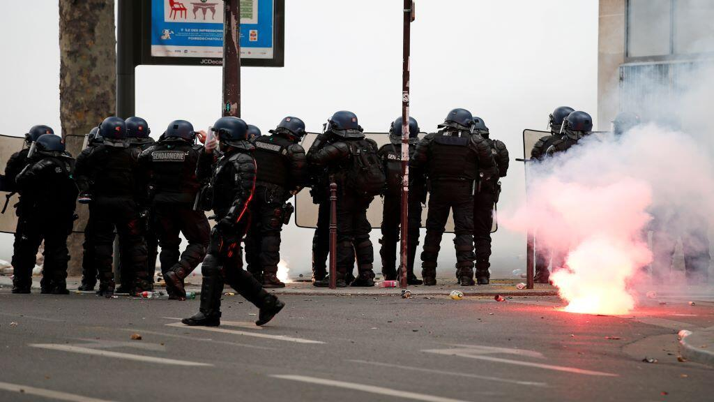 POLICE-FRANCE-PROTEST