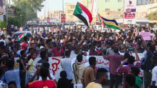 مظاهرة شمال الخرطوم يوم 21 أكتوبر 2019