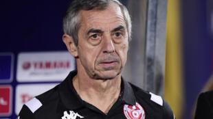 ألان جيريس المدرب السابق لمنتخب تونس لكرة القدم