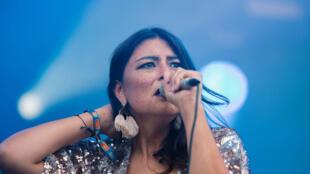 المغنية ايليزابي
