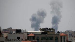 قصف الجيش الإسرائيلي لغزة