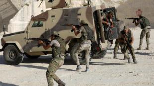 عناصر من القوات السورية