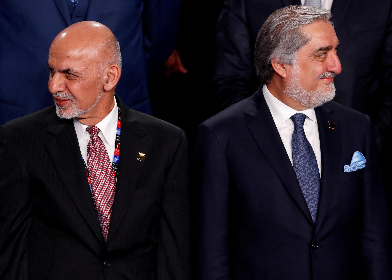 عبد الله عبد الله وأشرف غني