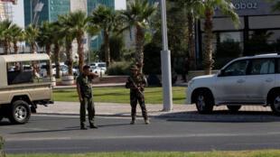 مكان الهجوم الذي  أودى بحياة نائب القنصل التركي في أربيل-