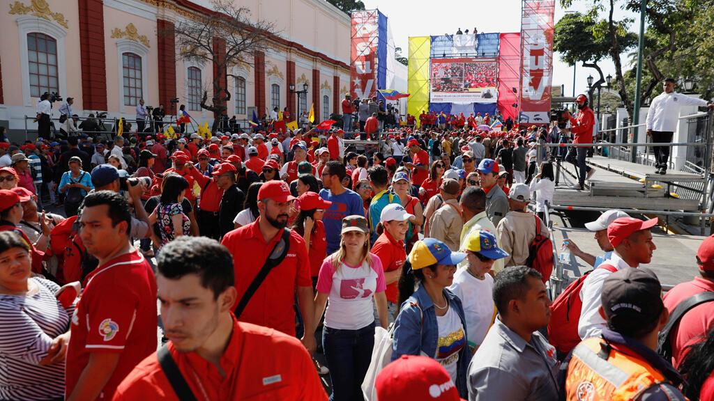 مظاهرات في فنزويلا ضد الحكومة