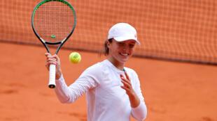 لاعبة التنس البولندية  إيجا شيانتيك