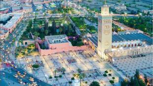 مدينة مراكش بالمغرب