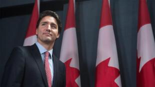 رئيس الوزراء الكندي جاستن ترودو في أوتاوا 20 تشرين الأول/أكتوبر 2015