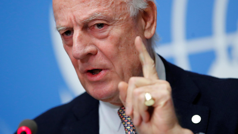 مبعوث الأمم المتحدة الخاص بسوريا ستافان دي ميستورا