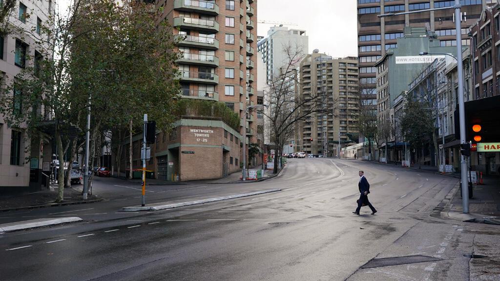 في شوارع العاصمة الاسترالية سيدني