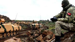 دبابات تركية في سوريا