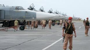 قاعدة حميميم الروسية في سوريا