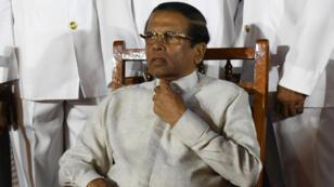 الرئيس السريلانكي ميثريبالا سيريسينا