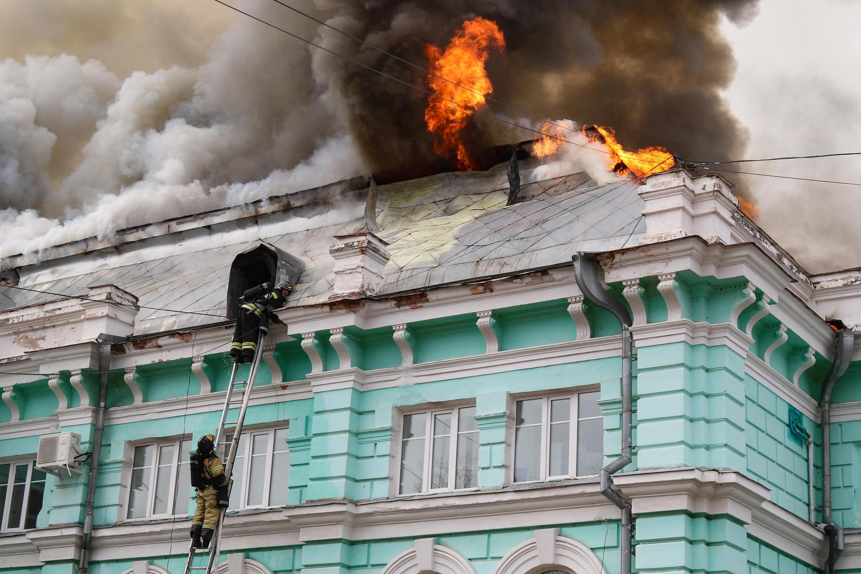 incendie hopital russie 02 04 2021
