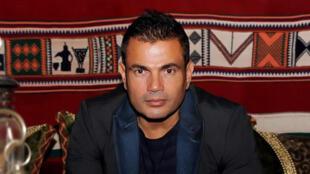 الفنان المصري عمرو دياب