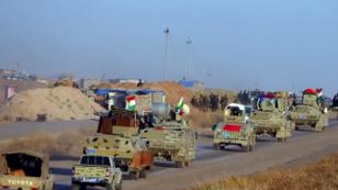 قوات من البشمركة الكردية