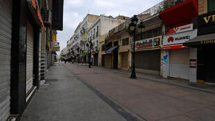 rue commercante tunis