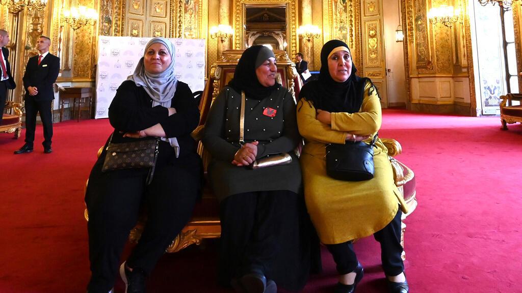 نساء محجبات في مجلس الشيوخ الفرنسي يوم 29 أكتوبر 2019