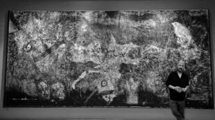 عمر ابراهيم ولوحة الوحوش