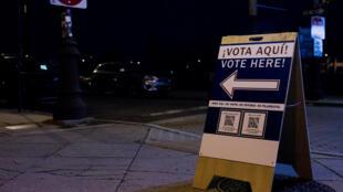 bureau de vote usa