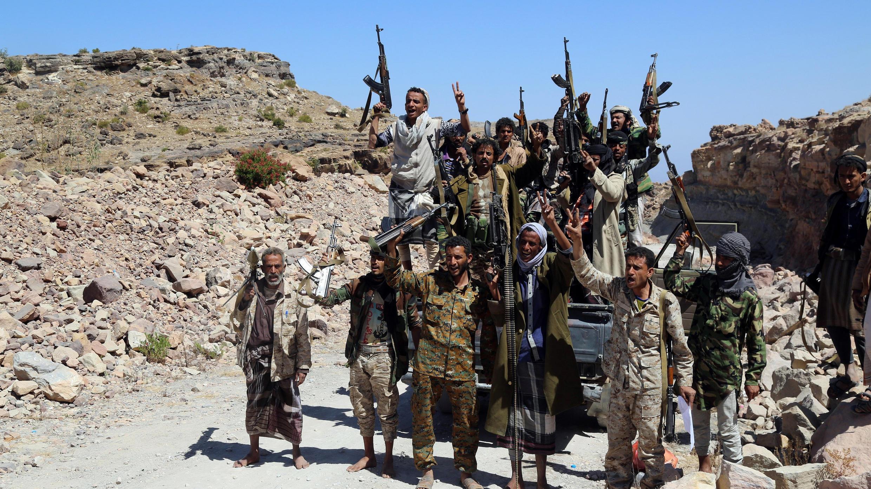 مقاتلون موالون للحكومة اليمنية