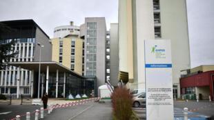 مستشفى كريتاي قرب العاصمة الفرنسية باريس
