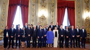 الحكومة الايطالية الجديدة