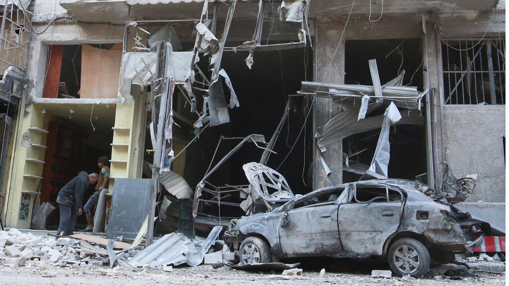 آثارهجوم في حلب