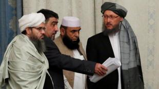 وفد من طالبان